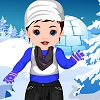 Baby Srna Winter Dressup