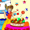 Kid's coloring: My cake